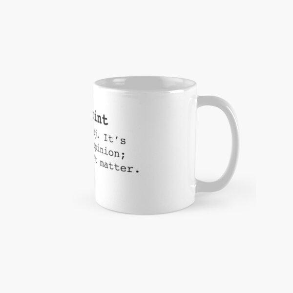 Moo Point Mug classique