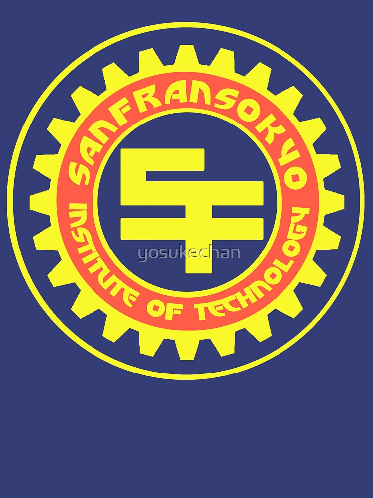 San Fransokyo Institute of Technology (Text) | Unisex T-Shirt