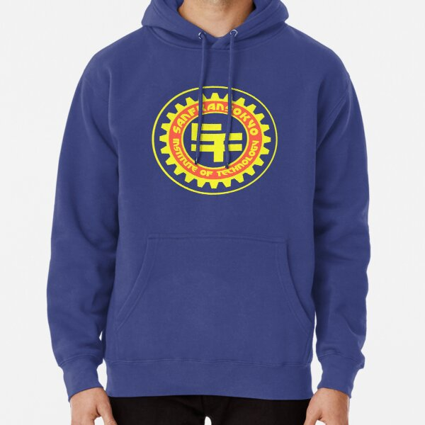 San Fransokyo Institute of Technology (Text) Pullover Hoodie