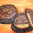 """""""Peanut Butter Cups"""" by Adela Camille Sutton"""