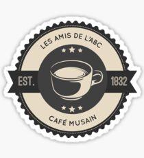 Cafe Musain (6) Sticker