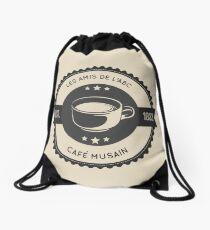 Cafe Musain (6) Drawstring Bag