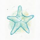 Aqua Starfish by dreampigment