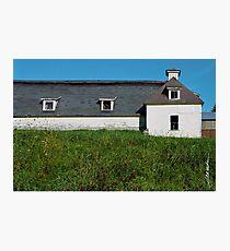 White Barn Photographic Print
