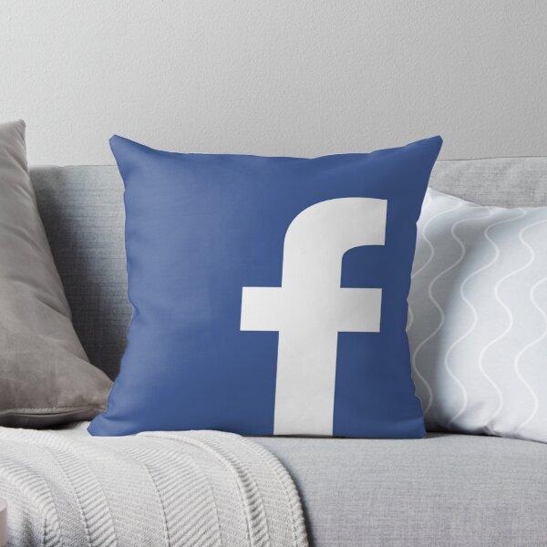 Facebook Logo / Icon Throw Pillow