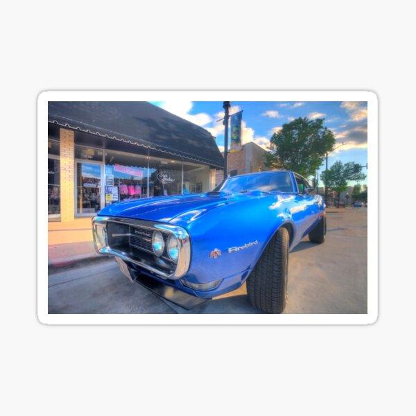 1968 Pontiac Firebird Sticker