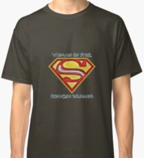 Woman of Steel - Scoliosis Awareness Classic T-Shirt