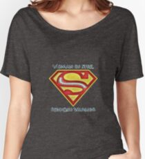 Woman of Steel - Scoliosis Awareness Women's Relaxed Fit T-Shirt