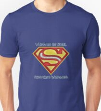 Woman of Steel - Scoliosis Awareness T-Shirt