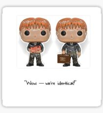The Weasley Twins Sticker