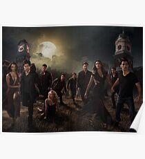 Póster Temporada 6 de The Vampire Diaries Photoshoot: Cast