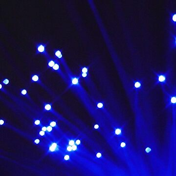 Glowing Blue Light Streams Wallpaper by nicoletteabides