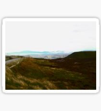 Lonesome Road, Donegal, Ireland Sticker