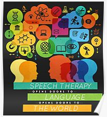 Speech Therapy Opens Doors to the World Poster