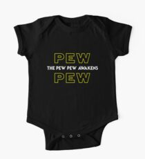 The Pew Pew Awakens Kids Clothes