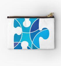 Blue puzzle piece Studio Pouch