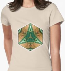 Green Delta Womens Fitted T-Shirt