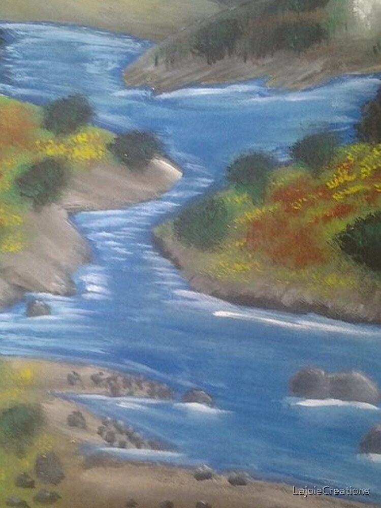 Meandering River by LajoieCreations