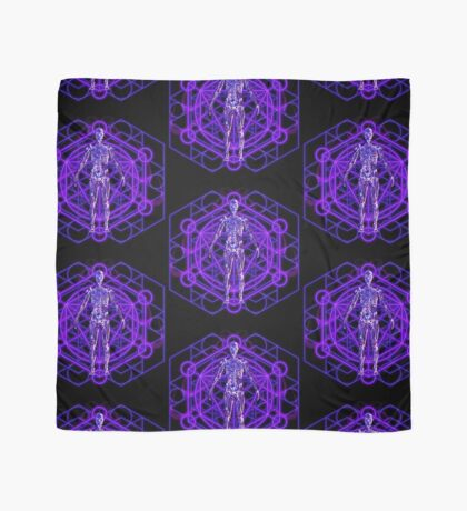 Sacred Geometry and the Human Body Scarf