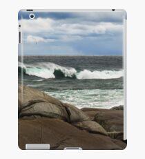 Breakers, Peggy's Cove, Nova Scotia iPad Case/Skin