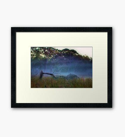 """A Break in the Fog"" Framed Print"