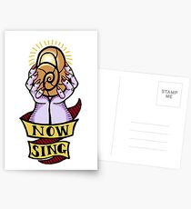 Now, Sing! Postcards