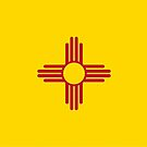 Flag of New Mexico by Rich Anderson
