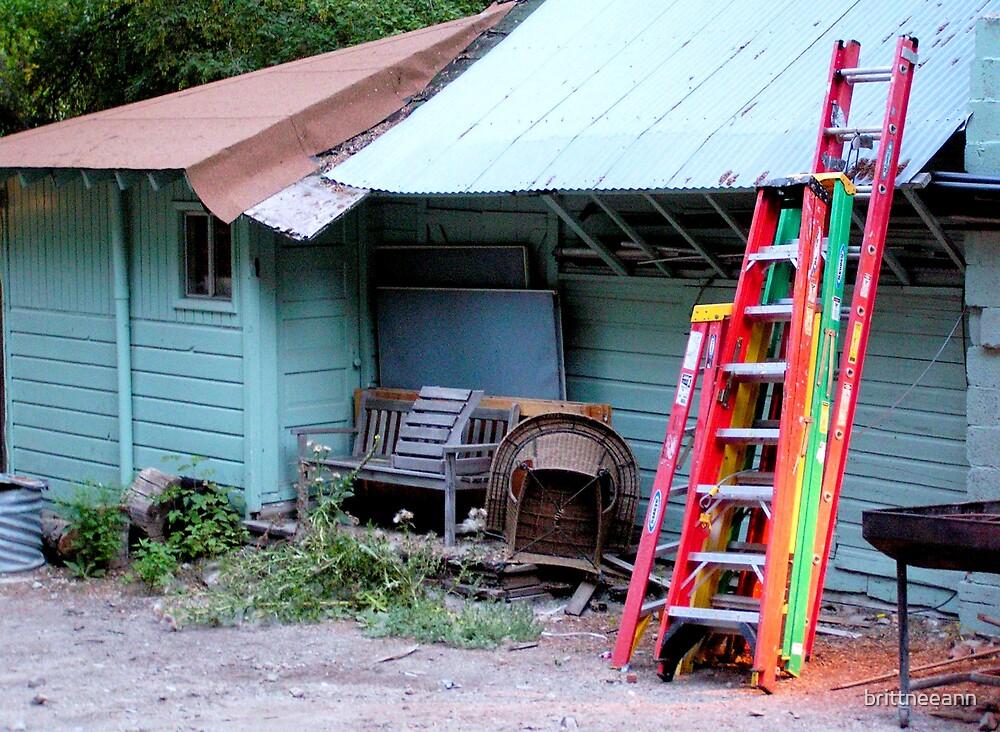 Neon Ladders by brittneeann
