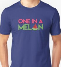 One in a Melon: Cute Fruit Design Unisex T-Shirt