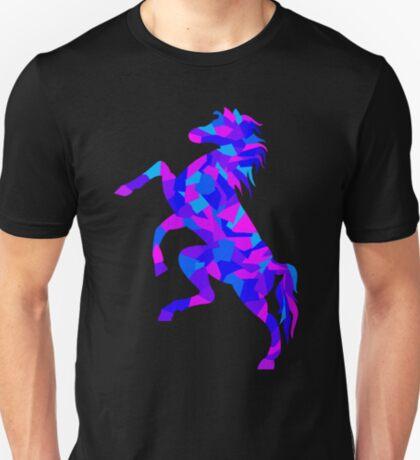 Colorful Geometric Horse T-Shirt