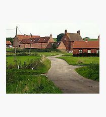 Wellow,  a Quiet Corner. Photographic Print