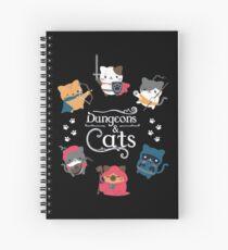Dungeons & Cats Spiral Notebook