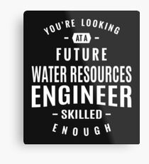 Water Resources Engineer Metal Print