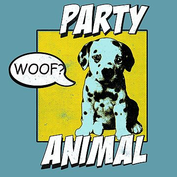 Party Animal by MustLoveAnimals