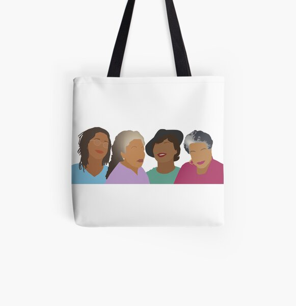 Squad Goals- Queens of African American Literature All Over Print Tote Bag