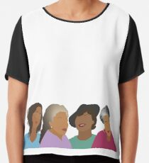 Squad Goals- Queens of African American Literature Chiffon Top