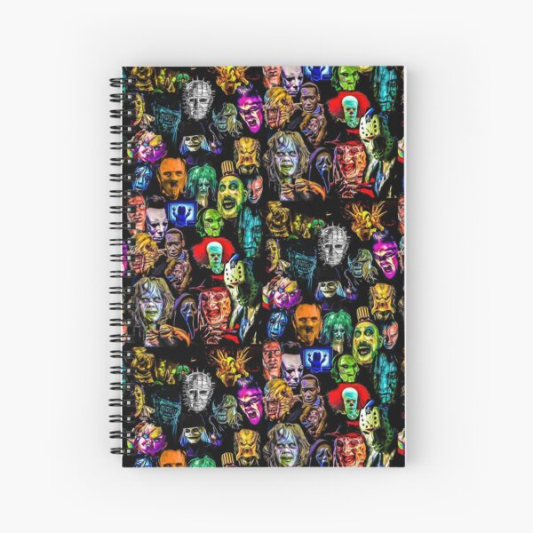 horror collection  Spiral Notebook