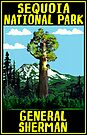 GENERAL SHERMAN TREE SEQUOIA NATIONAL PARK KINGS CANYON by MyHandmadeSigns