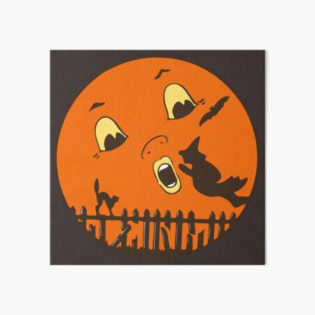Vintage Beistle Halloween Art Board Print