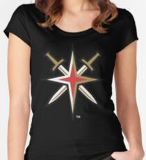 Vegas Golden Knights Women's Fitted Scoop T-Shirt