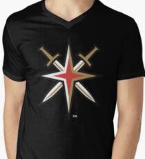 Vegas Golden Knights Men's V-Neck T-Shirt