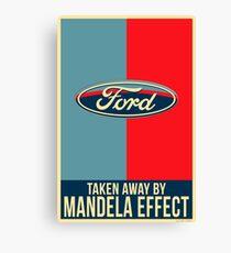 Mandela Effect - Ford Logo Canvas Print