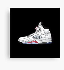 Supreme x Nike Air  Canvas Print