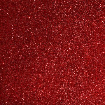 Granat Januar Wassermann Birthstone schimmernden Glitter von podartist