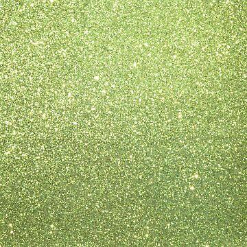Peridot August Birthstone Gelbgrün Sparkly Glitter von podartist