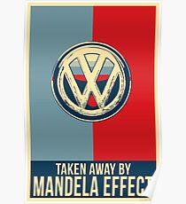 Mandela Effect - Volkswagen Logo Poster