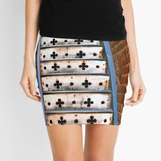 Lucky Steps Mini Skirt