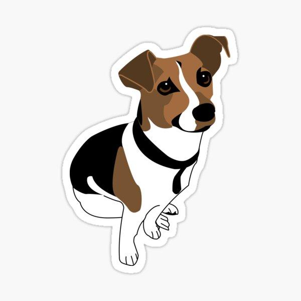 Jack Russell - Dog Vector Art! Sticker