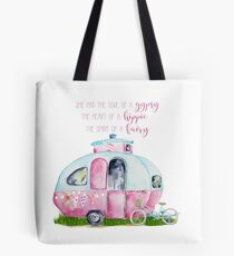 Soul of a Gypsy, Heart of a Hippie, Spirit of a Fairy Tote Bag