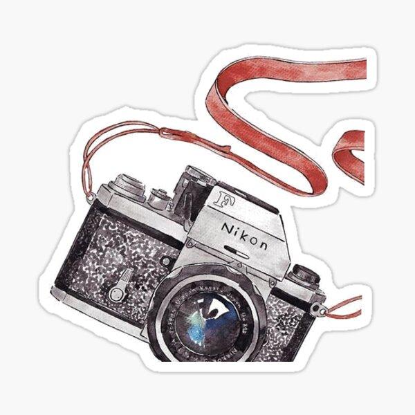 Nikon Camera Sticker